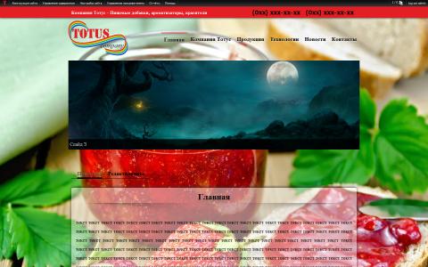 Компания Тотус - Пищевые добавки, ароматизаторы, красители