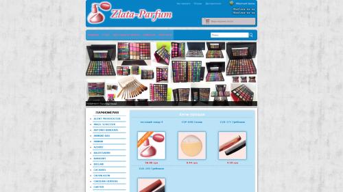 Интернет магазин парфюмерии zlata-parfum.com.ua